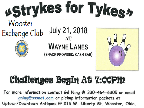 Strykes for Tykes